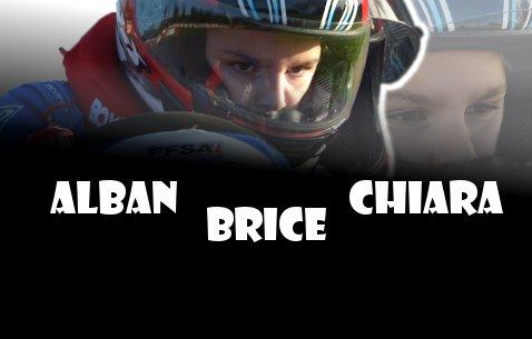 Ethan Alban Chiara et Brice