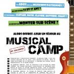 Un Musical Camp pour les ados en Vals de Gartempe et Creuse !