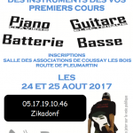 Inscriptions 2017/18