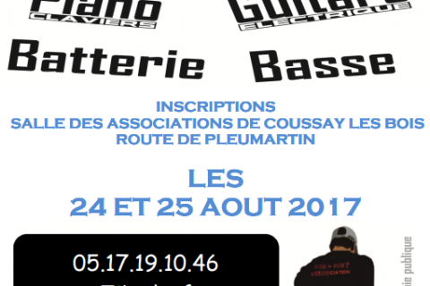 Inscriptions 2017/18