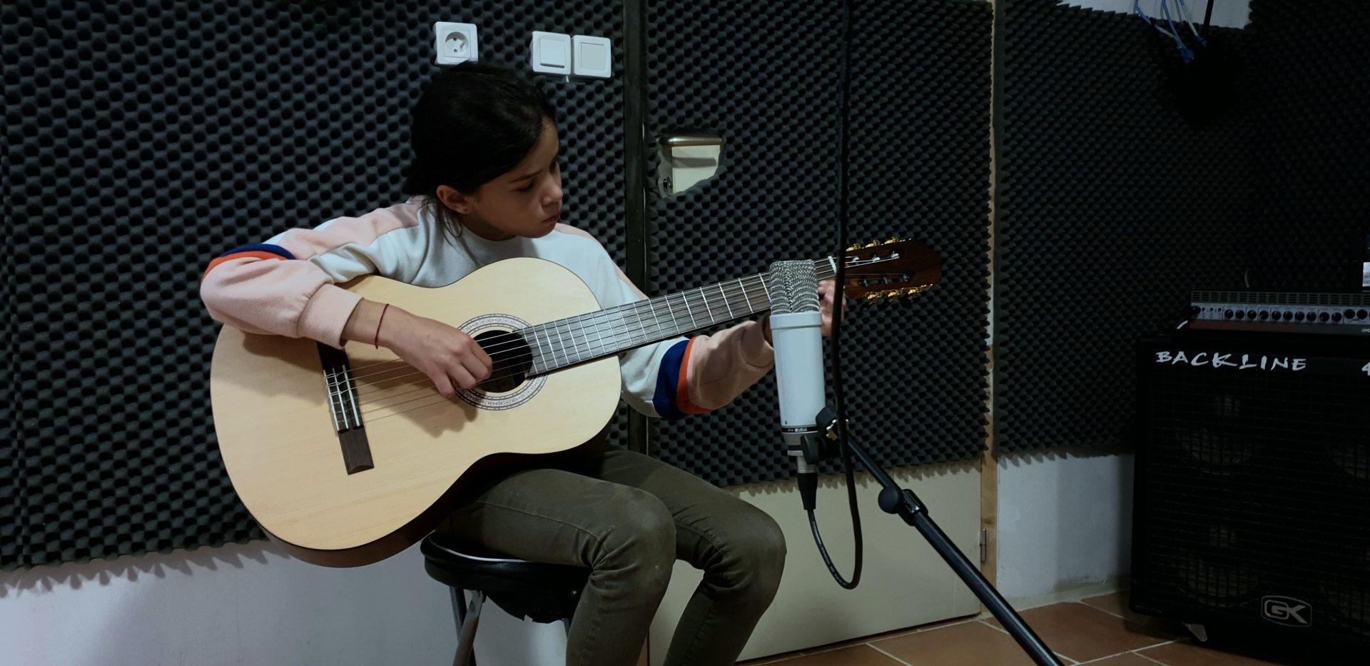 Liou en studio